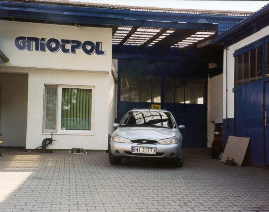 Gniotpol produkty - o nas 1995 rok
